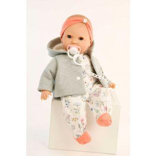 Schildkrot Lenchen Sleepy Eye Baby Doll With Dummy 37cm