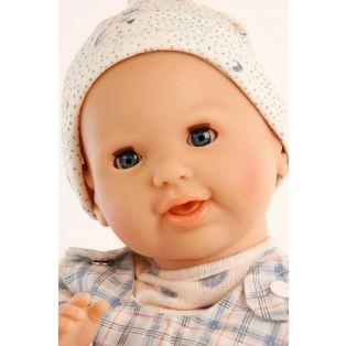 Schildkrot Lenchen Sleepy Eye Baby Doll With Dummy In Blue 37cm  alternate image