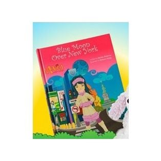 Maru & Friends Blue Moon Over New York Hardback Chapter Storybook