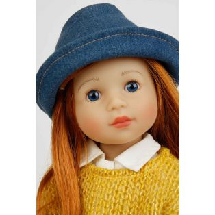 Schildkrot Yella Frieske 46cm Red Hair Doll