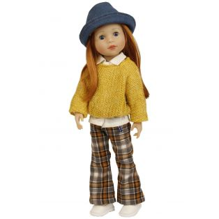 Schildkrot Yella Frieske 46cm Red Hair Doll  alternate image
