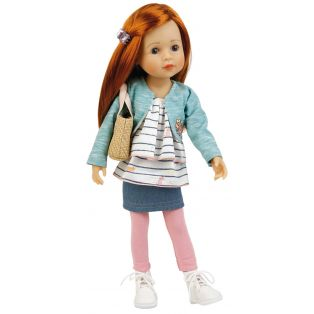Schildkrot Yella Frieske 46cm Red Hair Doll 2020