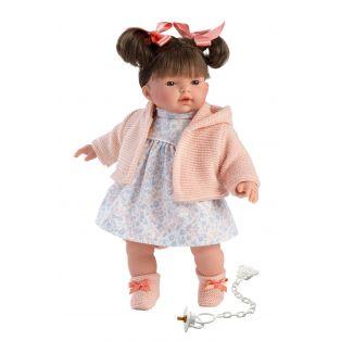Llorens Brunette Baby Girl Doll Rita 33cm