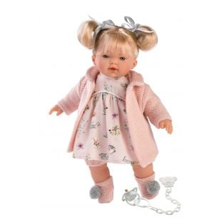 Llorens Blonde Baby Girl Doll Ariana 33cm