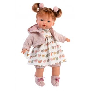 Llorens Redhead Baby Girl Doll Lauren 33cm