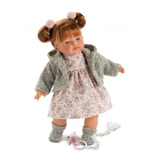 Llorens Redhead Baby Girl Doll Alice 33cm
