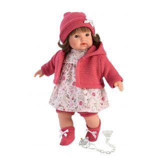 Llorens Brunette Baby Girl Doll Hazel 33cm