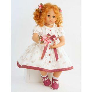 Schildkrot Elena Sauer Artist Doll With Posy 53cm
