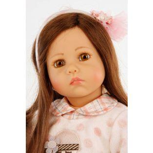 Schildkrot Elena Sauer Artist Doll With Mouse Toy 53cm