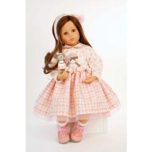 Schildkrot Elena Sauer Artist Doll With Mouse Toy 53cm alternate image