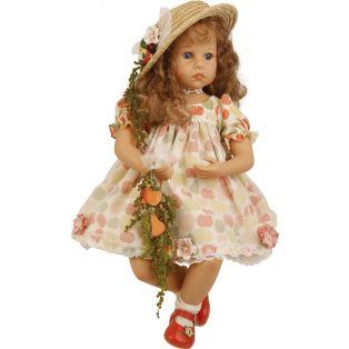 Schildkrot Elena Sauer Doll (straw hat) 53cm 2019