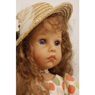 Schildkrot Elena Sauer Doll (straw hat) 53cm 2019 alternate image