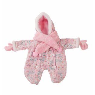 Gotz Baby Doll Snowsuit, Mittens & Scarf S, M