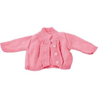 Gotz Knitted Pink Cardigan, 42-50cm, M, XL