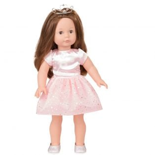 Gotz Pink Princess Dress & Silver Shoes, XL alternate image