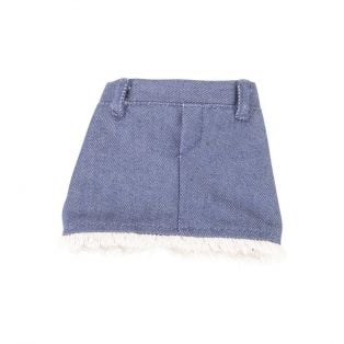 Gotz Jean Skirt With Fringe-30-33cm, S