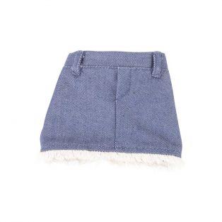 Gotz Jean Skirt With Fringe-42-46cm