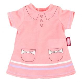 Gotz Pink Polo Dress-42-46cm