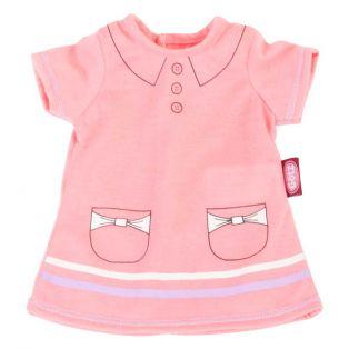 Gotz Pink Polo Dress-30-33cm