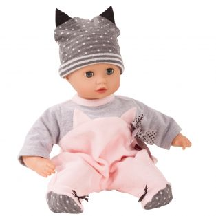 Gotz Baby Doll Cat Romper & Hat 30-33cm, 42-46cm, S, M alternate image
