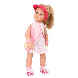 Tennis - Gotz White and Pink Tennis Dress & Cap, XL alternate image