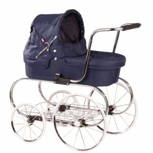 Gotz Classic Doll's Pram Fits Up To 50cm Dolls