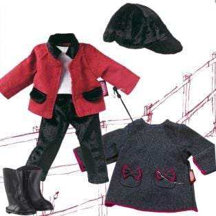 Gotz JLM 2 Outfits Includes Horse Riding and Casual 27cm, XS