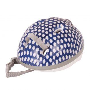 Cycling - Gotz Doll Bicycle Helmet (Blue Spotty) 42-50cm, M, XL
