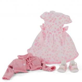 Gotz Pink Hearts Outfit 45-50cm, XL alternate image