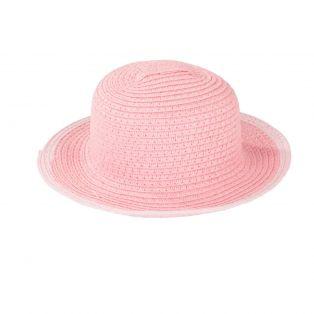 Gotz Pink Straw Hat, 42-50cm, M, XL