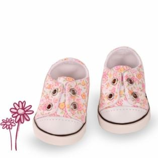 Gotz Trainers Little Flowers size 42 - 50cm, M, XL