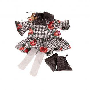 Gotz Christmas Rose Dress 45-50cm, XL
