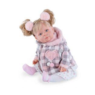 Marina & Pau Toddler Girl Doll Berta 43cm