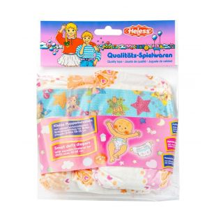 Heless Nappies Pack of 3, size 28-35cm