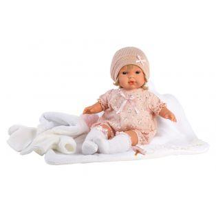 Llorens Toddler Baby Doll Lola Cries, 38cm