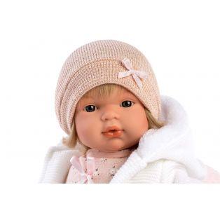 Llorens Toddler Baby Doll Lola Cries, 38cm alternate image
