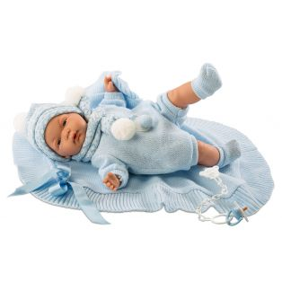 CHANGED SKU Llorens Newborn Baby Boy Doll Joel 38cm With Dummy alternate image