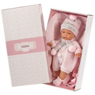 Llorens Newborn Baby Doll Joelle 38cm With Dummy alternate image