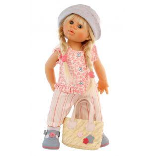 Schildkrot Wichtel Doll Blonde Lilli Muller 30cm