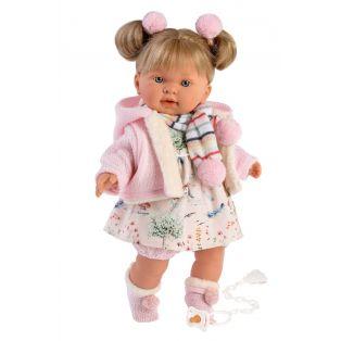 Llorens Toddler Baby Doll Alexandra Cries, 42cm
