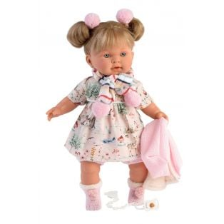Llorens Toddler Baby Doll Alexandra Cries, 42cm alternate image