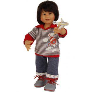 Schildkrot Wichtel Boy Doll Akio Muller 30cm 2019