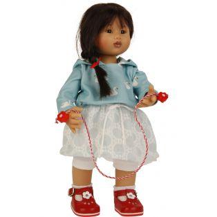 Schildkrot Wichtel Asian Doll Kimiko Muller 30cm 2019