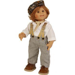 Schildkrot Wichtel Boy Doll Barry Muller 30cm