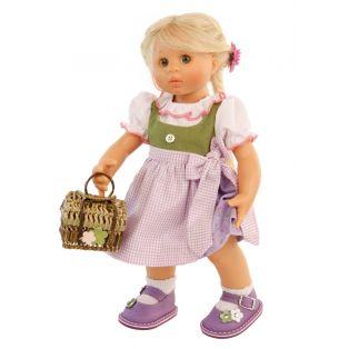 Schildkrot Wichtel Doll Blonde Lotta Muller 30cm