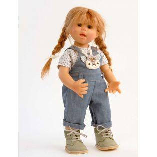 Schildkrot Wichtel Doll Emma Muller In Dungarees 2021, 30cm alternate image