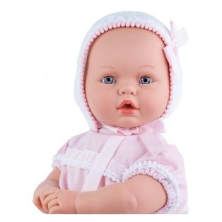 Marina & Pau Large Newborn Baby Doll Paula, Closing Eyes, Cries 60cm alternate image