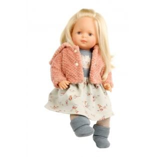 Schildkrot Strampelchen Blonde Toddler Doll 37cm
