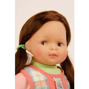 Schildkrot Strampelchen 2020 Baby Doll Brown Hair 37cm