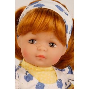 Schildkrot Strampelchen 2020 Baby Doll Red Hair 37cm  alternate image